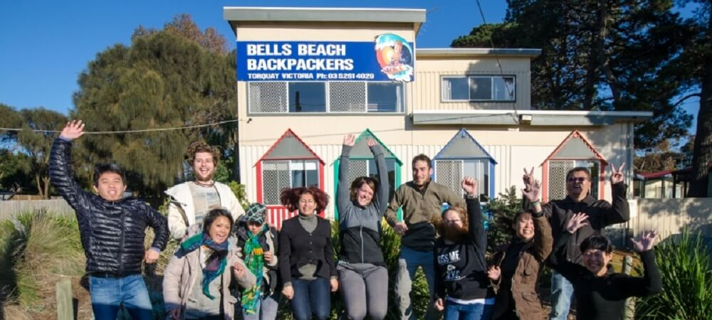 Bells Beach Backpackers Hostel on the Great Ocean Road