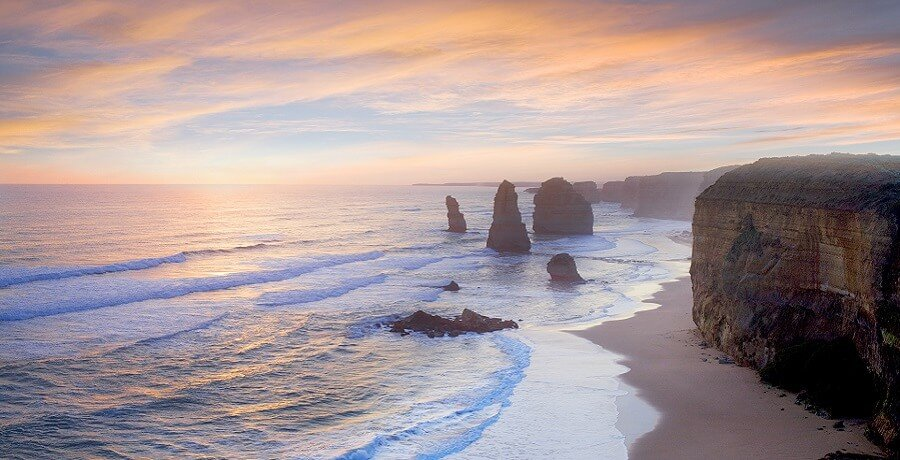 Sunset at the 12 Apostles
