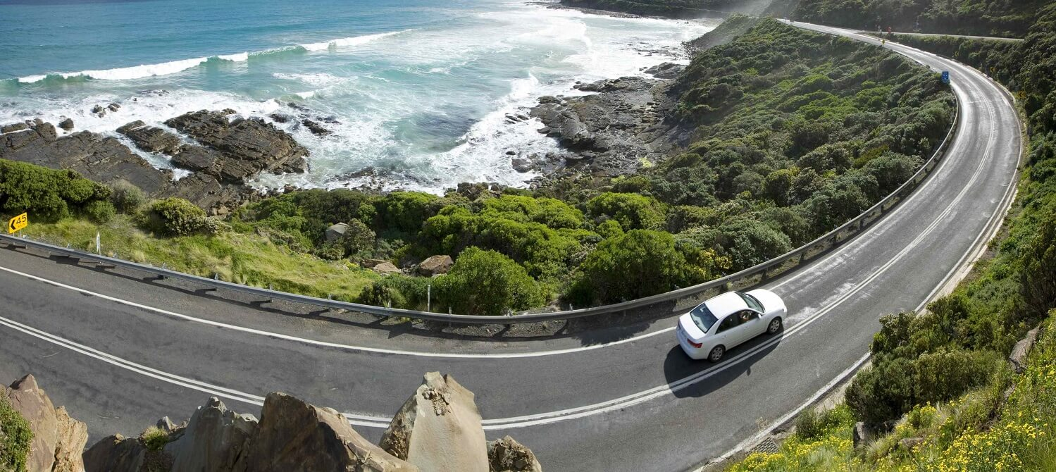Who built the Great Ocean Road?